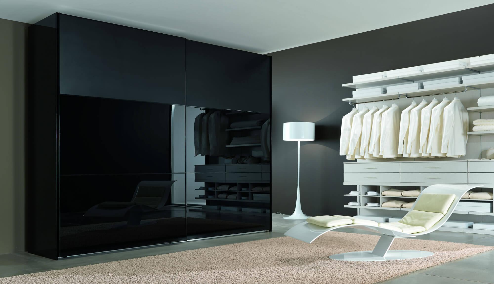 Dressing negru mobilier dressing la comanda bucuresti for Model de dressing