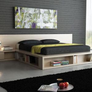 Mobilier negru, dormitor negru, mobila dormitor