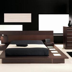 Mobilier dormitor wenge - Dormitoare